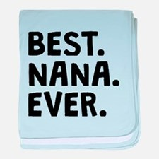Best Nana Ever baby blanket