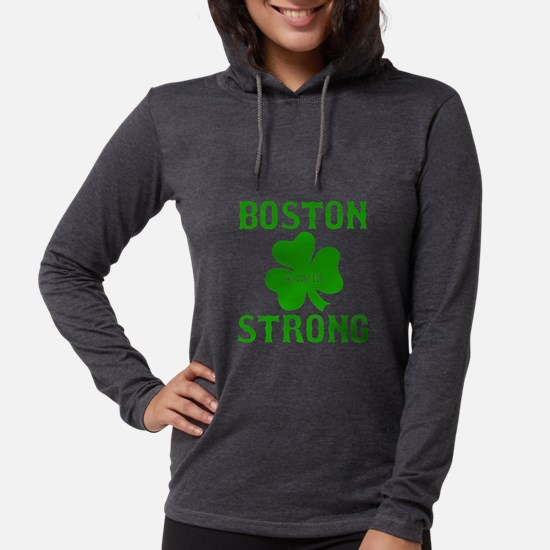 Boston Strong - Green Long Sleeve T-Shirt