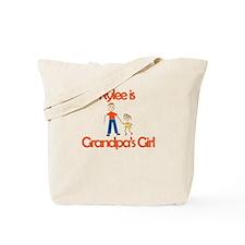 Rylee is Grandpa's Girl Tote Bag