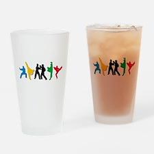 Taekwondo Kicks Drinking Glass