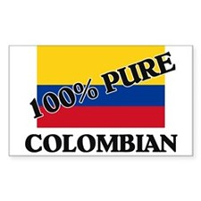 Cute Colombia flag Decal