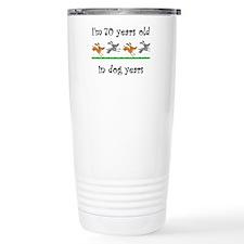 10 dog birthday 1 Travel Mug