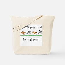 10 dog birthday 1 Tote Bag