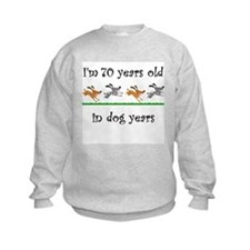 10 dog birthday 1 Sweatshirt