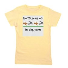 10 dog birthday 1 Girl's Tee