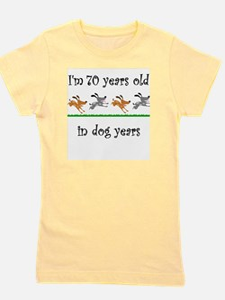 10 dog birthday 1 Girl's Tee