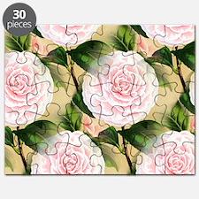 Pink Camilla collage Puzzle