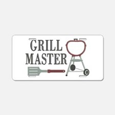 Grill Master Aluminum License Plate