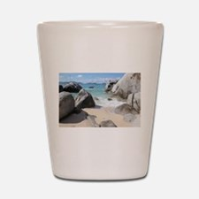 The Baths Shot Glass