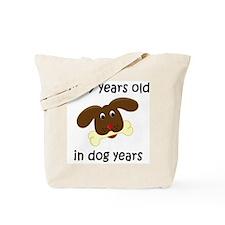 1 dog years 4 Tote Bag