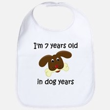 1 dog years 4 Bib