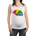 Rainbow Peace Maternity Tank Top