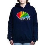 Rainbow Peace Women's Hooded Sweatshirt