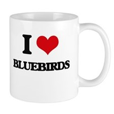 I Love Bluebirds Mugs