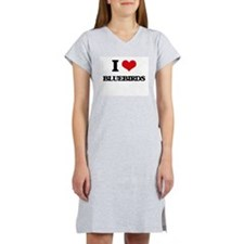 I Love Bluebirds Women's Nightshirt
