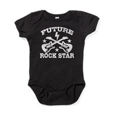 Unique Future rock star Baby Bodysuit