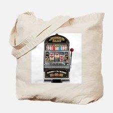Casino Slot Machine Tote Bag