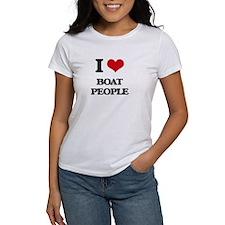 I Love Boat People T-Shirt
