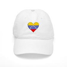 Venezuela Flag Heart Baseball Baseball Cap