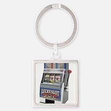 Casino Slot Machine Keychains