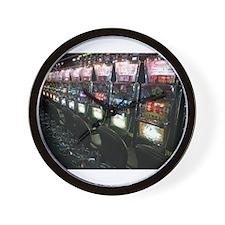 Casino Slot Machine Wall Clock
