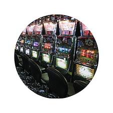 "Casino Slot Machine 3.5"" Button (100 pack)"