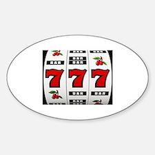 Casino Slot Machine Decal