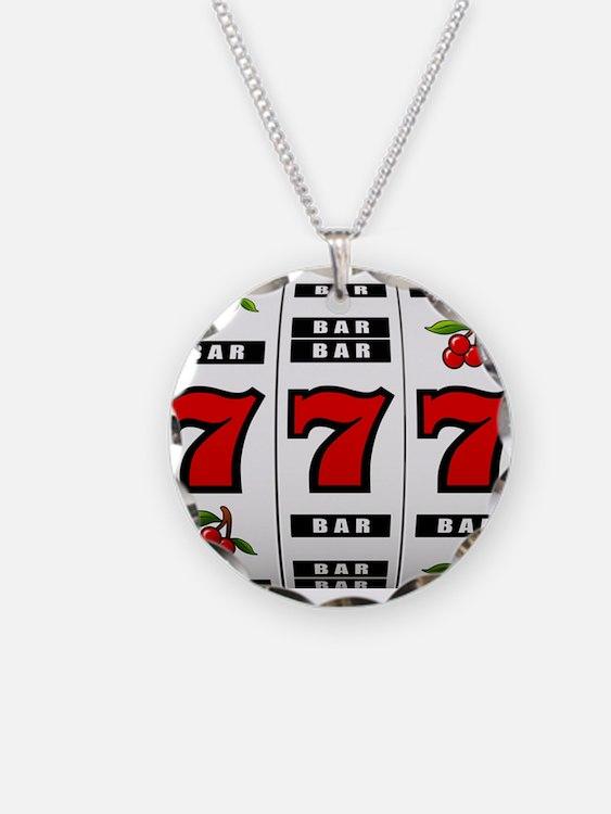 Casino Slot Machine Necklace