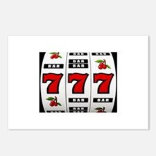 Casino Slot Machine Postcards (Package of 8)