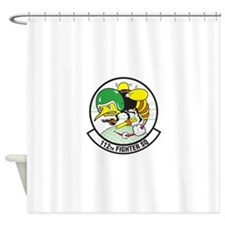 112th_fighter_squadron.png Shower Curtain