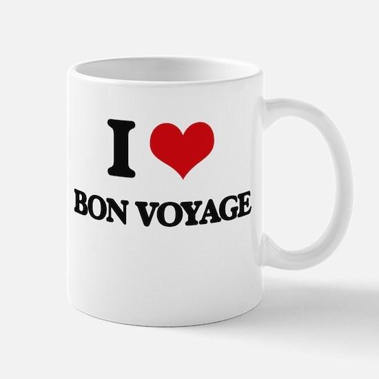 I Love Bon Voyage Mugs