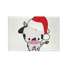 Holiday Cow Magnets