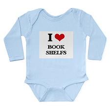 I Love Book Shelfs Body Suit