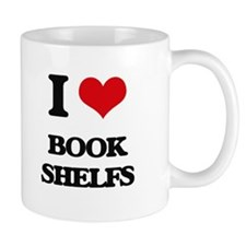 I Love Book Shelfs Mugs
