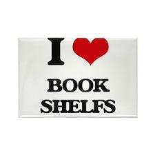 I Love Book Shelfs Magnets