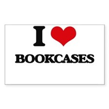 I Love Bookcases Decal