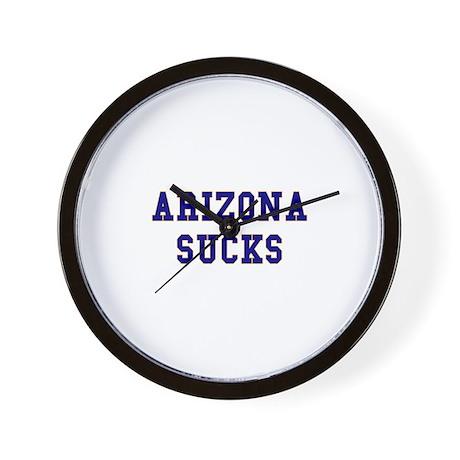 Arizona Sucks Wall Clock
