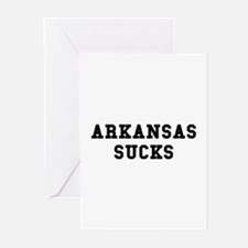 Arkansas Sucks Greeting Cards (Pk of 10)