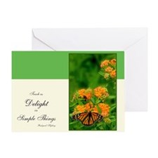 Butterfly Delight Greeting Cards