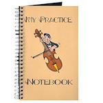 Cello Music Practice Notebook