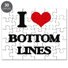 I Love Bottom Lines Puzzle
