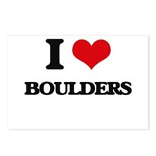 I Love Boulders Postcards (Package of 8)