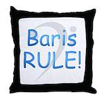 Baris RULE! Throw Pillow