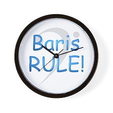 Baris RULE! Wall Clock