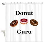 Donut Guru Shower Curtain