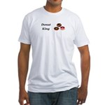 Donut King Fitted T-Shirt