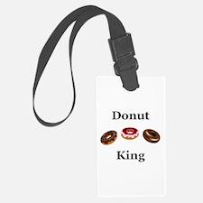 Donut King Luggage Tag