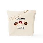Donut King Tote Bag