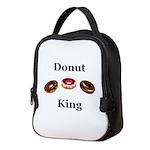 Donut King Neoprene Lunch Bag