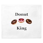 Donut King King Duvet